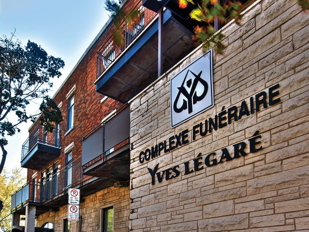 Complexes funéraires Yves Légare